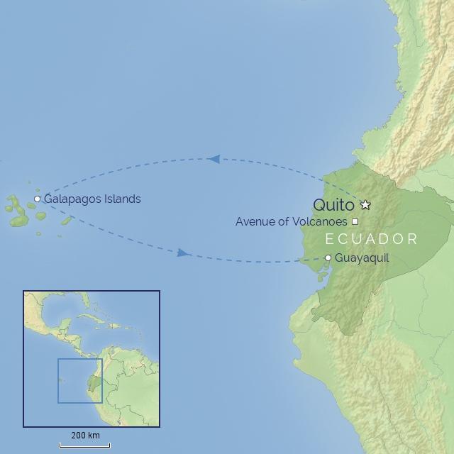 tour - south america - ecuador & galapagos experience