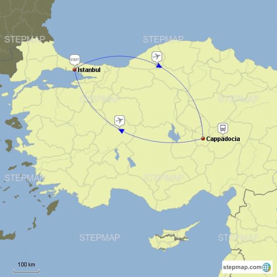 ISTANBUL & CAPPADOCIA 6days