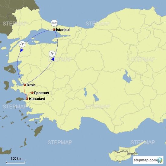 Istanbul & Ephesus 4 Nights - 5 Days