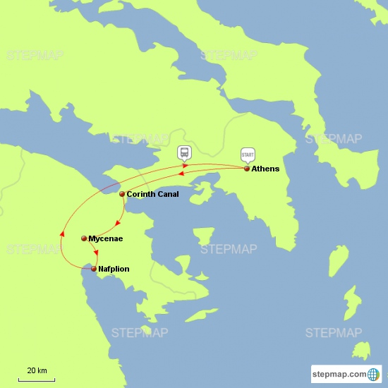 Athens - Corinth
