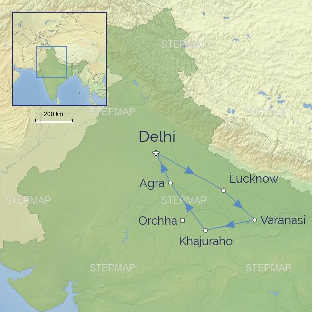 Tour - Indian-Subcontinent - India - Classical India