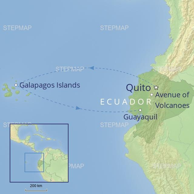 tour - south america - ecuador & galapagos family adventure