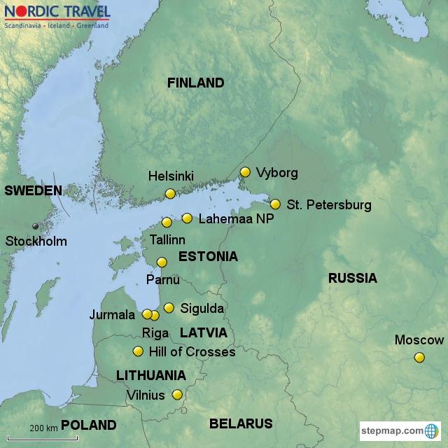 Visit Vilnius Riga Tallinn Helsinki St Petersburg Moscow