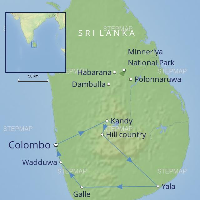 tour India-subcontinent Sri Lanka - treasures-of-sril-lanka