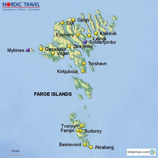 From South to North in the Faroe Islands - Nordic Travel