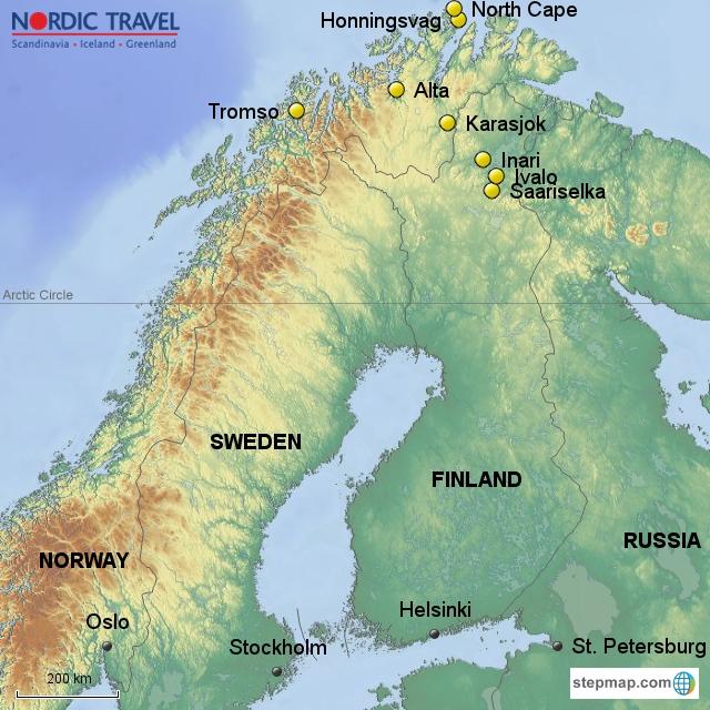 experience the arctic stay in a aurora cabin in saariselka