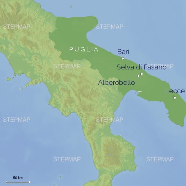 subregion EUROPE ITALY PUGLIA