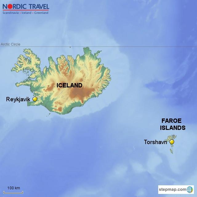 Reykjavik, Iceland & Torshavn, Faroe Islands, with guided day ...