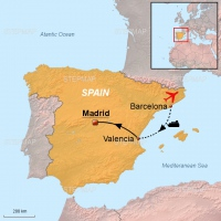 Test Map Spain 2