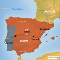 Test Map Spain