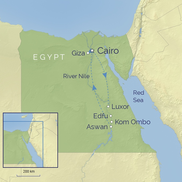 w-tour-middle east-egypt-oberoi philae nile cruise