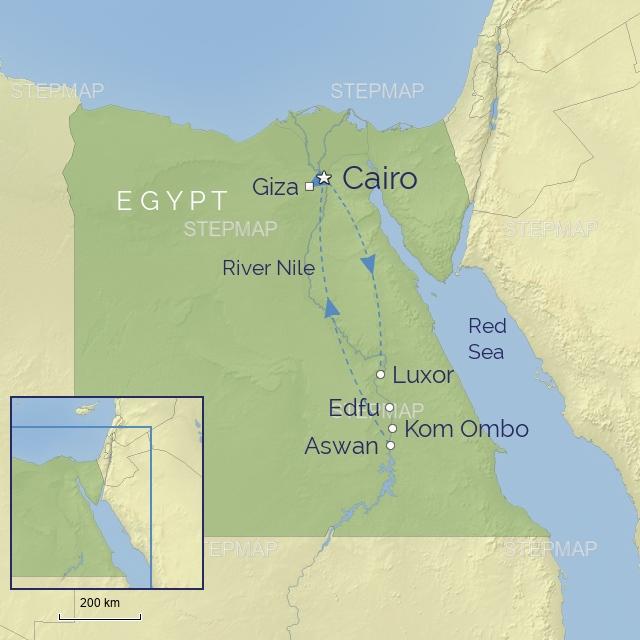 w-tour-middle east-egypt-oberoi philae nile cruise