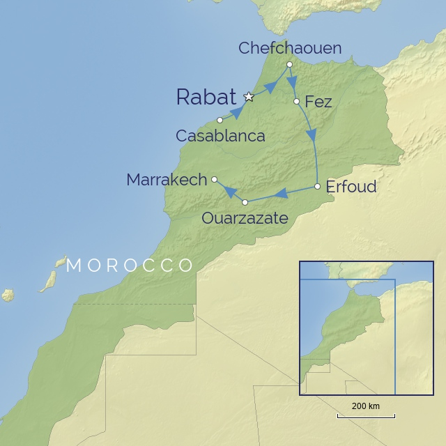 w-tour-Middle East-Morocco-Moroccan Explorer: Imperial Cities to Desert