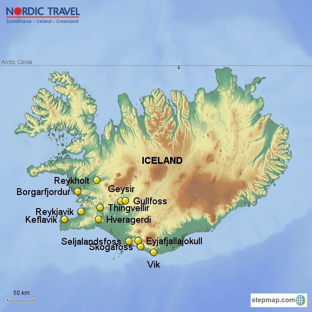 Explore Iceland\'s fabulous Golden Circle and south coast - Nordic Travel