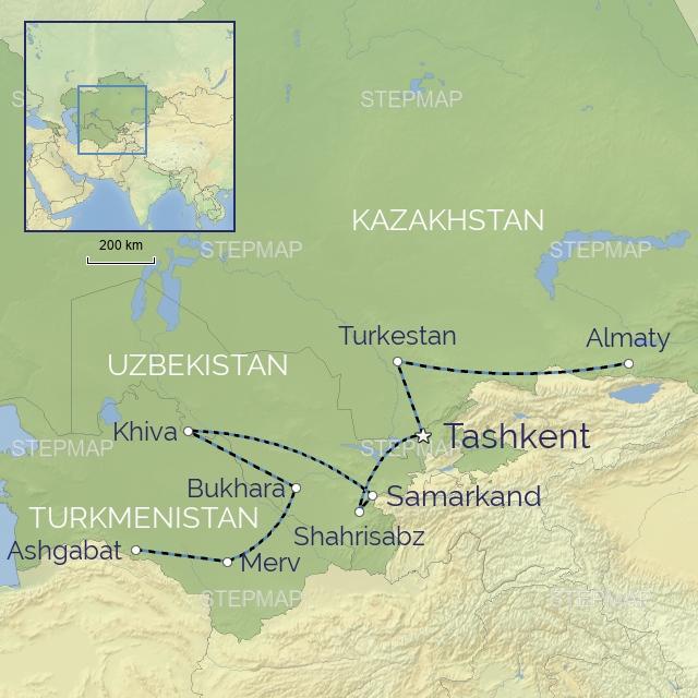 w-tour-Middle East-Uzbekistan-The Legendary Silk Route by Rail