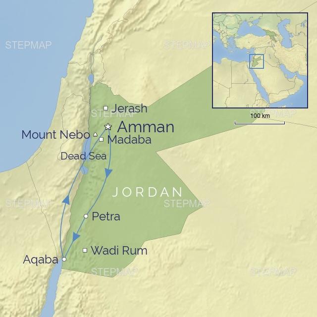 w-tour-middle east-jordan-Treasures of Jordan