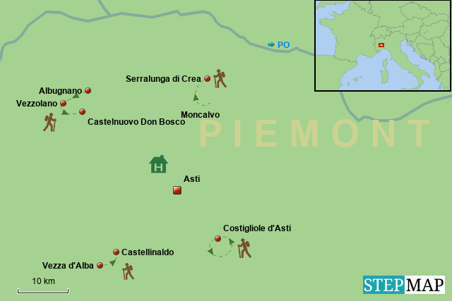 Piemont - Monferrato