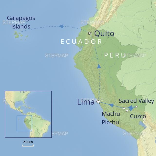w-tour-latin america-peru & ecuador-Peru & Ecuador: Conquistadores, Incas & Islands