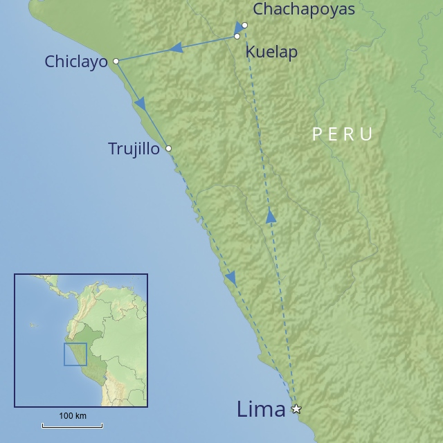 w - Tour - South America - Peru - northern peru