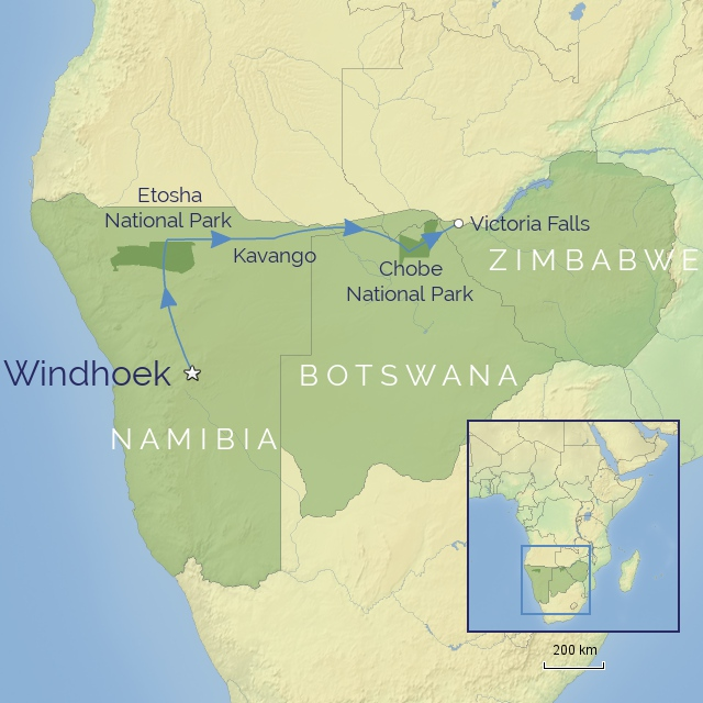 w-tour-africa-namibia, botswana & zimbabwe, A Journey from Windhoek to Victoria Falls