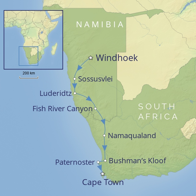 w-tour-africa-namibia & south africa-Namibia & South Africa: Windhoek to Cape Town