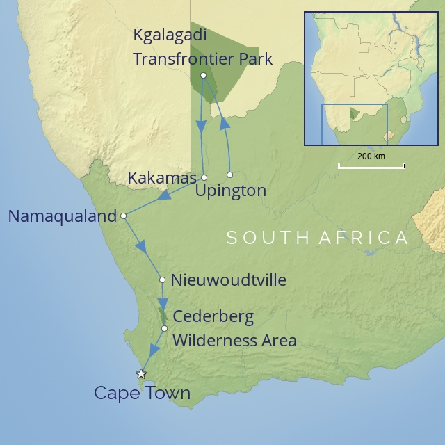 Tw-OUR - AFRICA - SOUTH AFRICA - northern to western cape