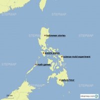 Lloyds tour map of the philippines