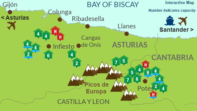 All props Picos de Europa Cantabria - Asturias