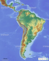 Central-South America blank