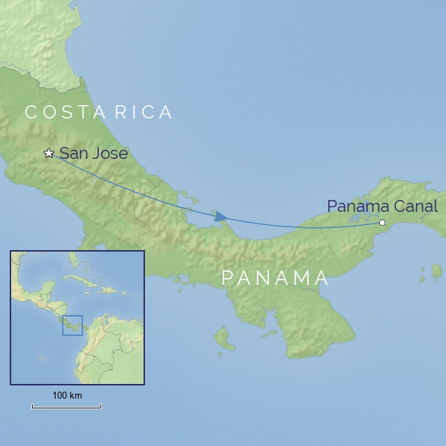 Tour - Central America - Costa Rica & Panama - Natural Wonders of Panama and Costa Rica Cruise