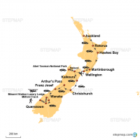 25 DAYS NEW ZEALAND NORTH & SOUTH ISLAND