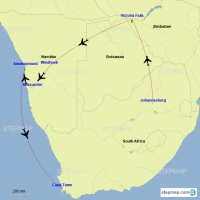 Ip's Itinerary - Southern Africa 11 nights