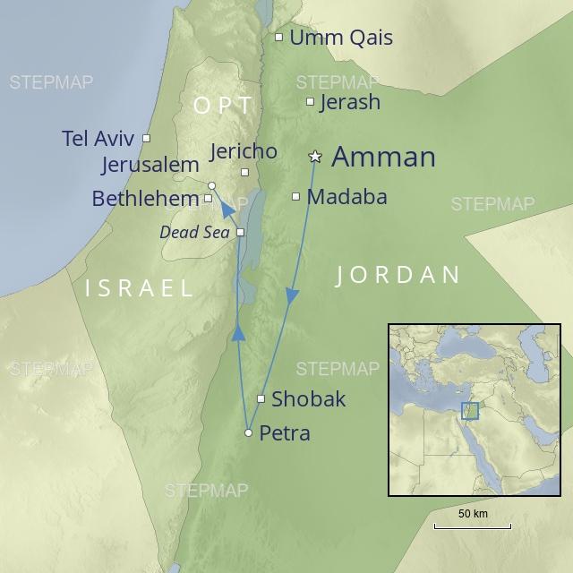 W 2019 middle east Jordan the wonders of Jordan and Jerusalem