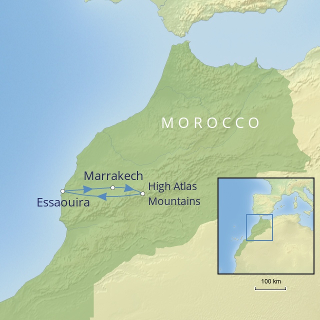 W 2019 Middle East Morocco mystical Morocco