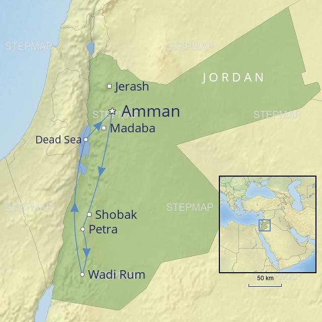 W 2019 Middle East Jordan Jordan in style