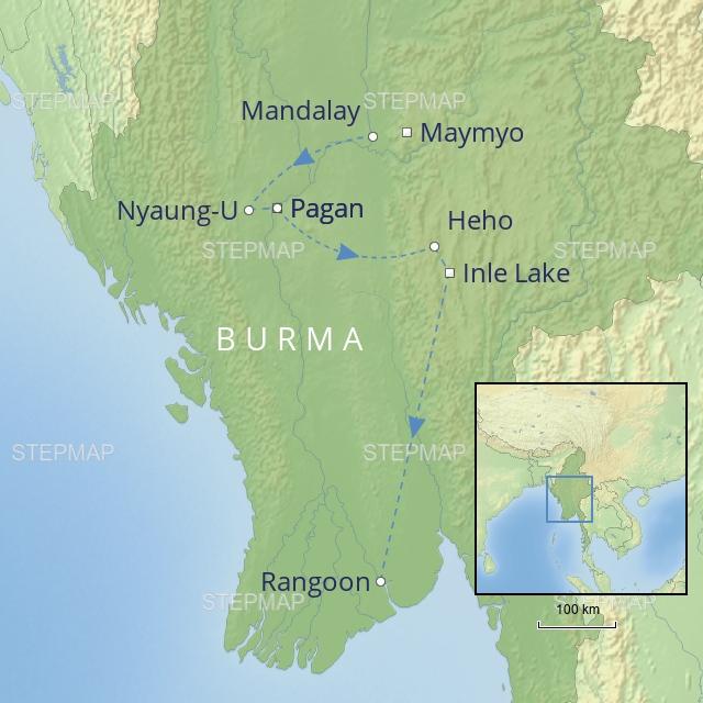 W 2019 Far East Burma Burma Discovery