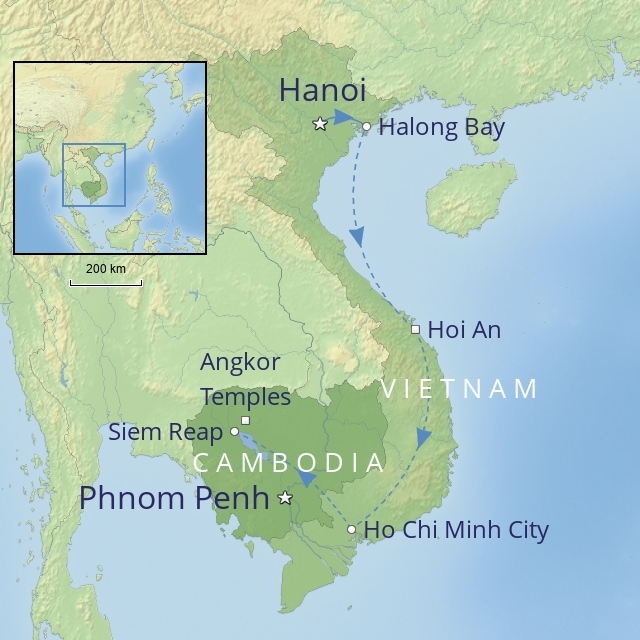 W FAR EAST VIETNAM AND CAMBODIA VIETNAM & THE TEMPLES OF ANGKOR