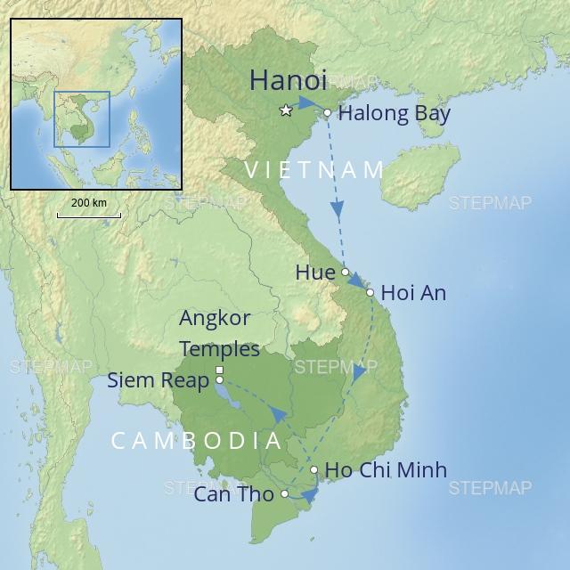 W 2019 FAR EAST VIETNAM & CAMBODIA VIETNAM AND CAMBODIA IN STYLE