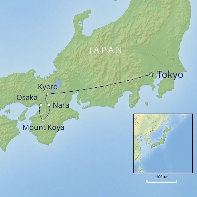 W 2019 FAR EAST JAPAN JAPAN SELF-GUIDED ADVENTURE
