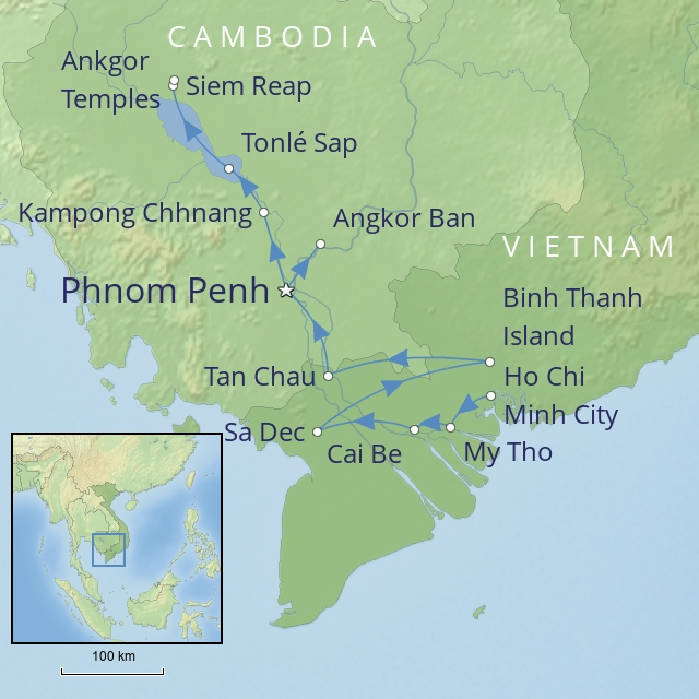 W 2019 FAR EAST VIETNAM AND CAMBODIA A RIVER JOURNEY ON THE MEKONG
