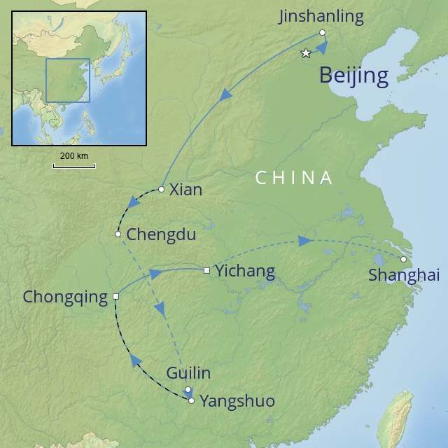 W 2019 FAR EAST CHINA CHINA: THE GRAND TOUR