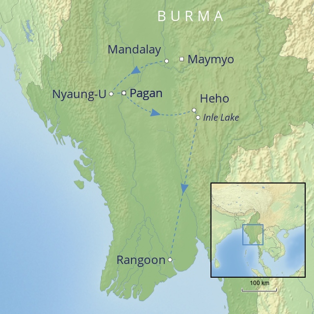 W 2019 Far East Burma The Golden Land of Burma