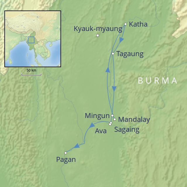 w 2019 Far East Burma pagan & the upper Irrawaddy pandaw river expeditions