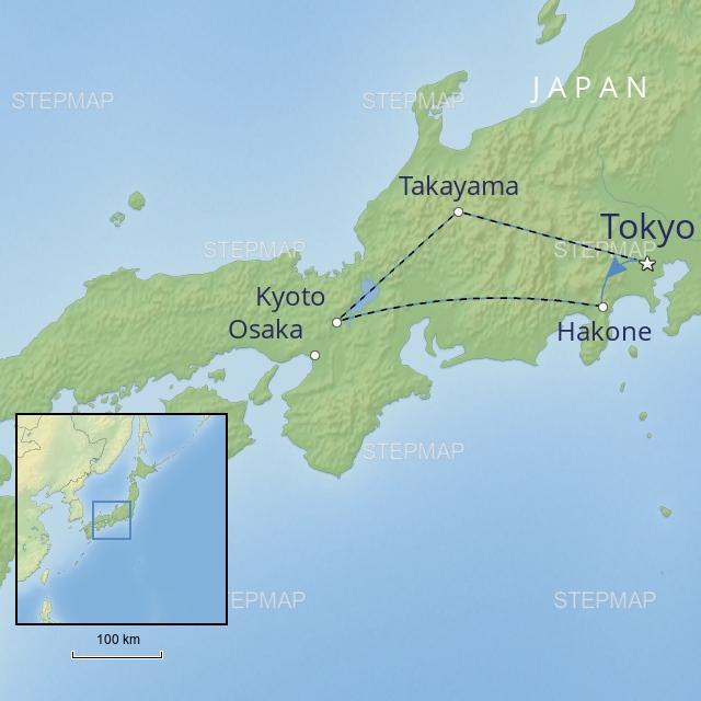 W 2019 FAR EAST JAPAN JAPAN FAMILY ADVENTURE
