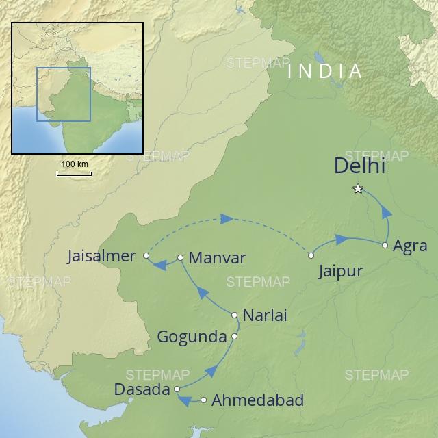 W 2019 INDIA WESTERN INDIA RAJASTHAN & GUJARAT
