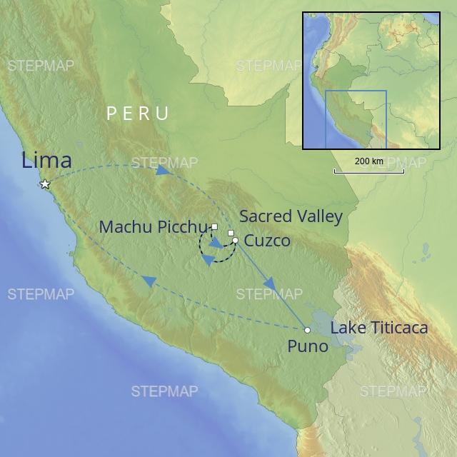 W 2019 LATIN AMERICA PERU TREASURES OF PERU