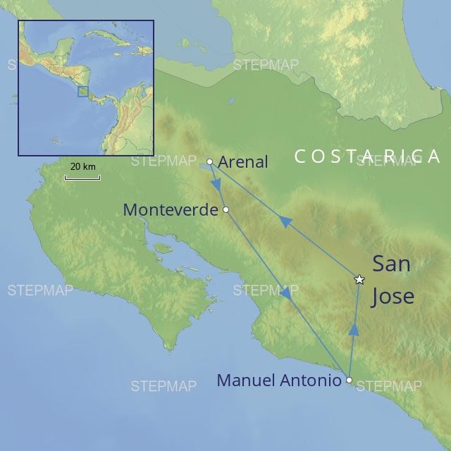 W - Central America - Costa Rica - Costa Rica Family Adventure
