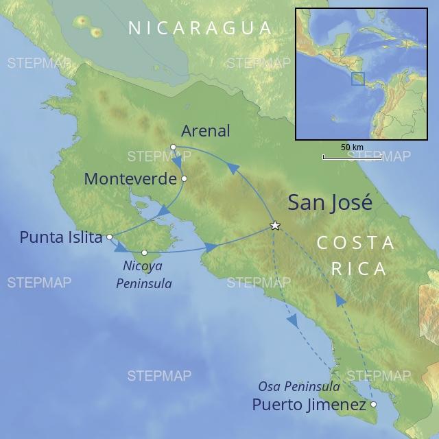 W 2019 LATIN AMERICA COSTA RICA LUXURY TOUR OF COSTA RICA
