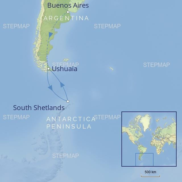 W latinamerica-antarctica-classicantarctica