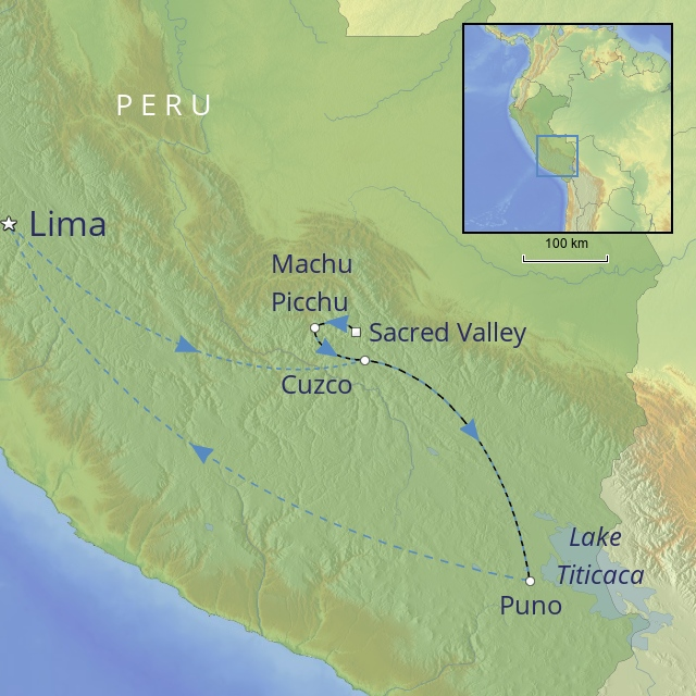 W LATIN AMERICA PERU PERU IN LUXURY